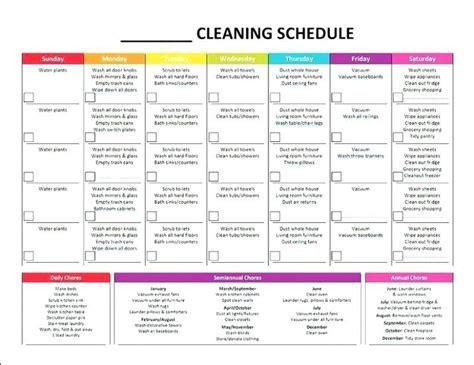 Household Chore Chart Template by House Chore List Primemarket Info