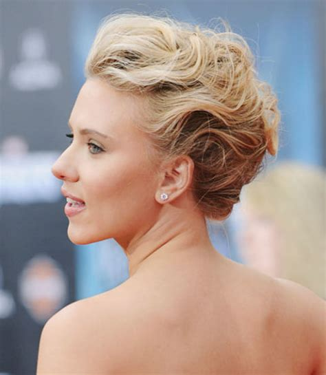 cute easy celebrity updos  hairstyles  hair