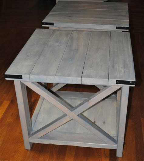 rustic   weathered grey  antique white ana white