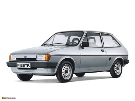 Ford Fiesta 1983–89 wallpapers (1024x768)