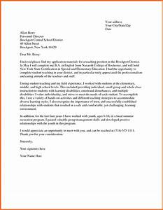 sample teacher cover letter soap format With sample teaching cover letters with no experience