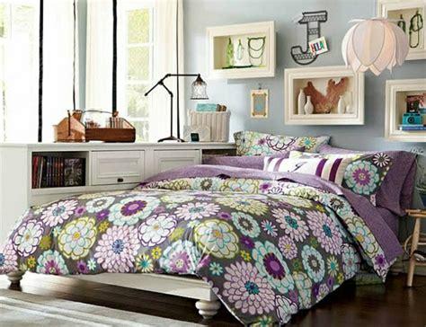 fleurs dans une chambre la chambre ado fille 75 idées de décoration archzine fr