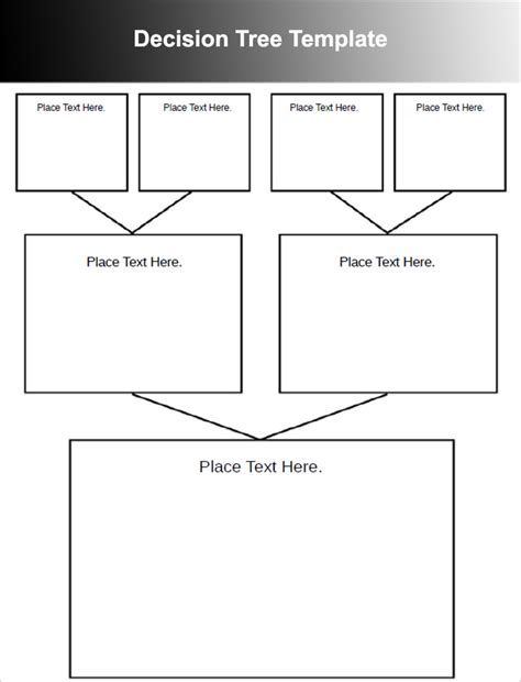 decision tree template 7 decision tree templates free word excel powerpoint formats