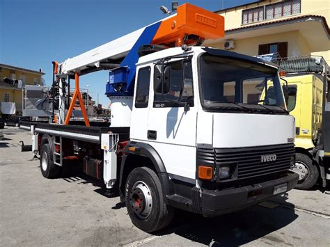 Used Iveco Fiat 145 Telescopic Boom Lifts Year