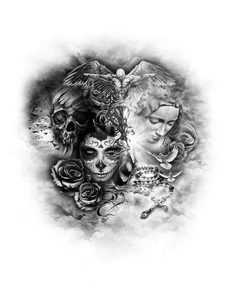 Good Vs Evil Tattoo 135 Best Arttattoos Images In 2019
