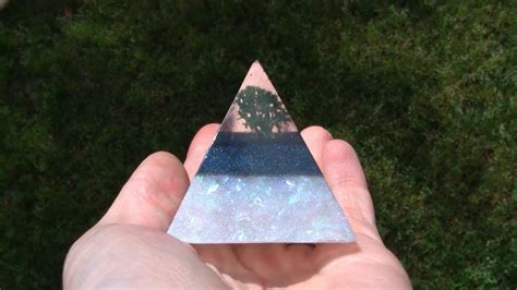 tree resin pyramid tutorial demo artresin youtube