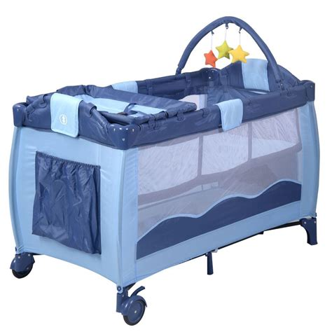 portable baby crib equipment portable infant baby green crib playpen