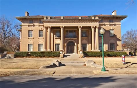 20,000 Square Foot Historic Mansion In Oklahoma City, OK
