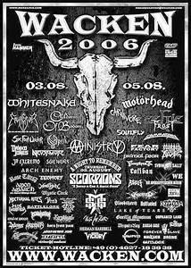 Agenda Concerts-Metal | Wacken Open Air 2006 - 03/08/2006 ...