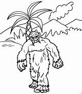 Coloring Yeti Kingdom Animal Fantasy Pages Printable sketch template