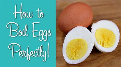 How To Boil Eggs - Perfect Hard Boiled Eggs   Hilah ...