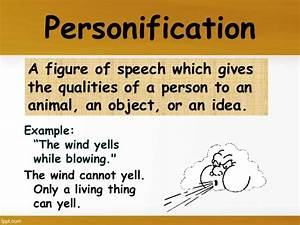 New Examples Of Personification Phrases