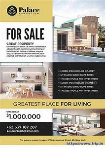 50 best real estate flyer print templates 2017 fripin for Real estate advertisement template