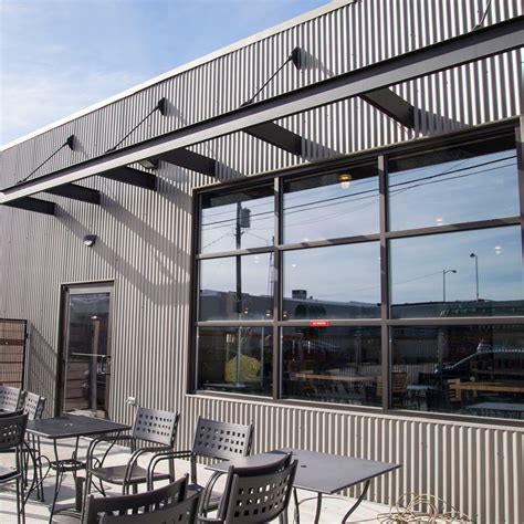 metal siding panel system options  residential  commercial buildings