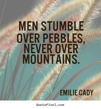 create image sayings  inspirational men stumble
