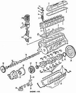 Ford Bronco Engine Valve Cover Gasket  4 9 Liter  Bronco