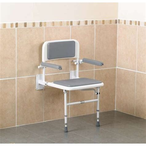chaise de pour handicape si 232 ge de avec dossier et accoudoirs pour personnes 226 g 233 es et personnes handicap 233 es
