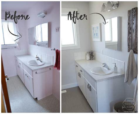 easy   pocket style inexpensive bathroom remodel