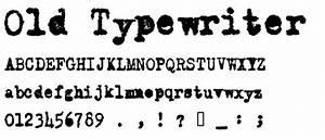 Old Typewriter Messy font | Helpful Hints | Pinterest ...