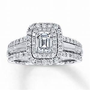 emerald cut engagement rings 12 wedding promise With best wedding band for emerald cut engagement ring