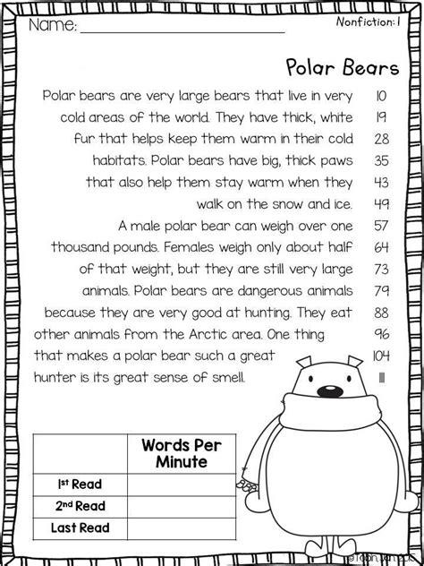 winter activities for fluency 2nd grade common core