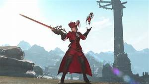 Final Fantasy XIV Stormblood Adds Red Mage Swimming And