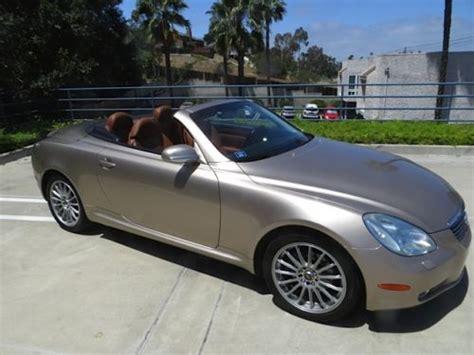 lexus sport car 4 door sell used 2002 lexus sc430 sport convertible 2 door 4 3l