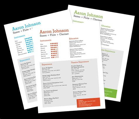 Resume Hosting by Musician Resume Template Home Resume Templates