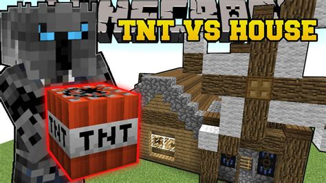 minecraft blowing  houses total house bombover mini game youtube