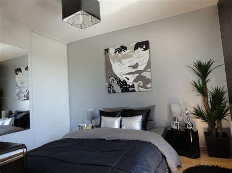 chambre a coucher et gris davaus rideaux chambre à coucher et noir