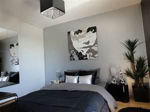Papier Peint Chambre Adulte Tendance : chambre photo 1 7 lilijoli ~ Preciouscoupons.com Idées de Décoration