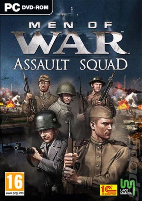 covers box art men  war assault squad pc