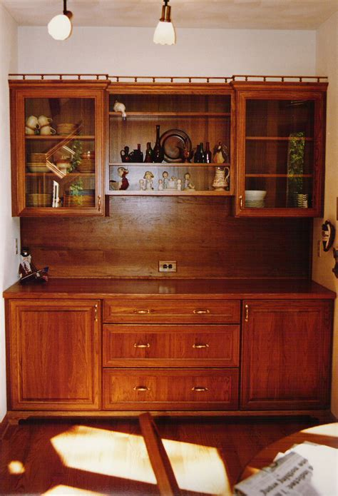 Furniture: Vivacious Kitchen Hutch Cabinets With Terrific