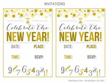 Eve Printables Party Clipart Invitations Cards Individual