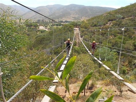 las canadas canopy tour bridge the hardest of them all picture of las canadas