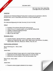 mechanical engineering student resume sample With engineering student resume