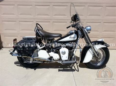 1950 Indian Chief Restored, Used, Original Motorcycle