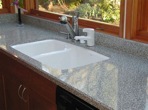 Gray colored formica counter photo, laminate countertops