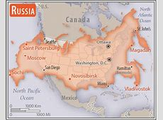 Central Asia Russia — The World Factbook Central