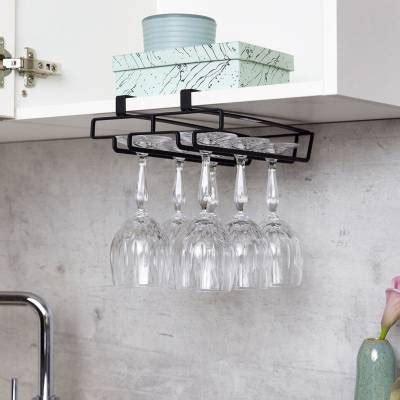 wenko black cabinet glass holder   glass holders black cabinets kitchen sale