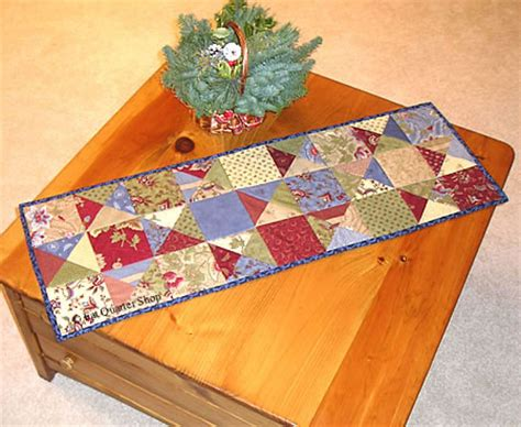 simple table runner patterns free tutorial pattern gatherings charm squares table