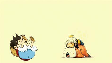 piece anime funny monkey  luffy trafalgar law
