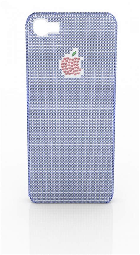 iphone 100000 100 000 iphone 5 with sapphire and rubies extravaganzi