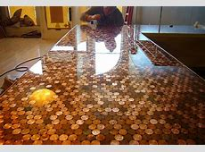 Cents and Sensibility How To Install A Copper Penny Floor