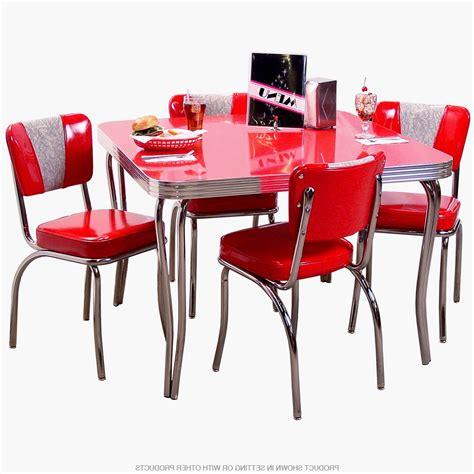 Luxury Retro Red Kitchen Chairs  Gl Kitchen Design