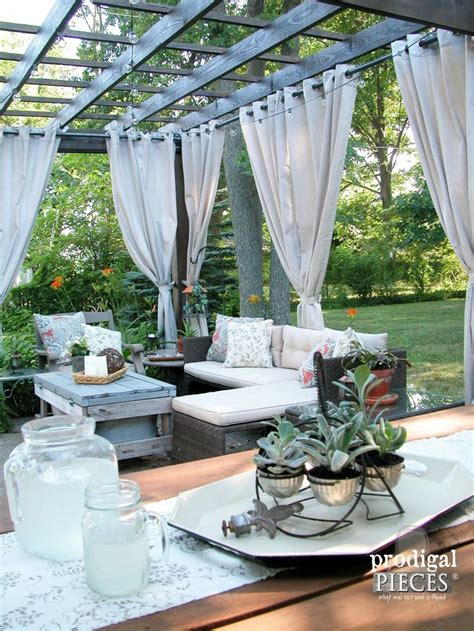 Best 25 Pergola Curtains Ideas On Pinterest Pergola