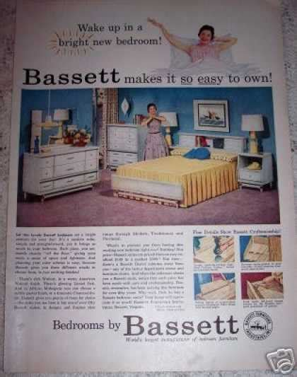 bassett bedroom furniture 1970 s vintage furniture ads of the 1950s page 2