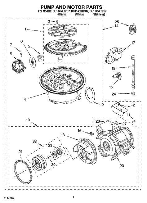 My Kenmore (Whirlpool) Elite dishwasher (665.1386) is not