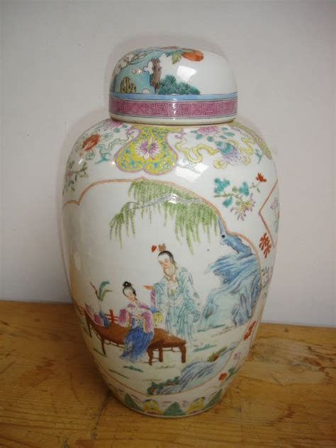 Large Vase With Lid by Large Enamel Porcelain Vase With Lid Family China