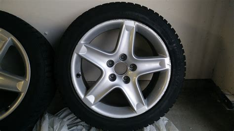 Closed 2004 Acura Tl Oem Wheels W/ General Altimax Arctic
